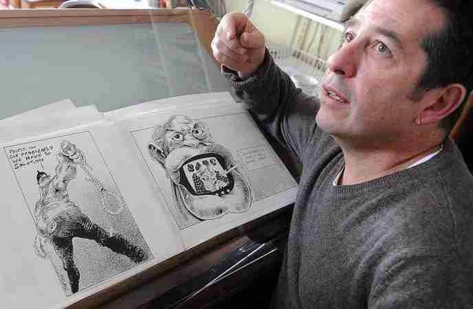 Zapiro - Political Satirist Keynote Speaker