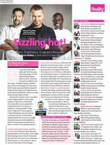 Justin Bonello-Celebrity Motivational Chef